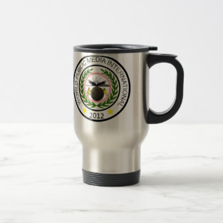 World Public Media Coffee Mug, with seal Travel Mug