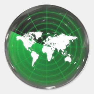 World Radar Stickers