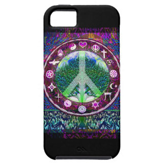 World Religions Peace Tree of Life Mandala iPhone 5 Cover