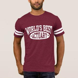 World's Best Actuary T-Shirt