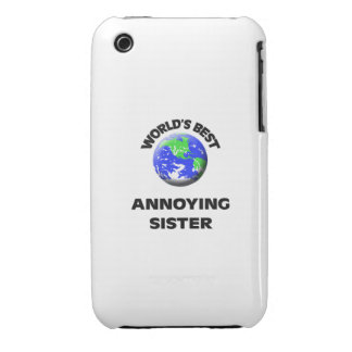 World s Best Annoying Sister Case-Mate iPhone 3 Case