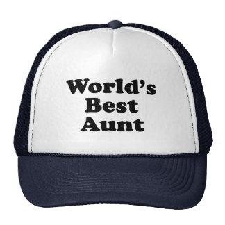 World s Best Aunt Hats