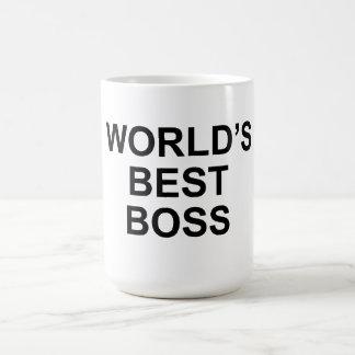 World s Best Boss Mug