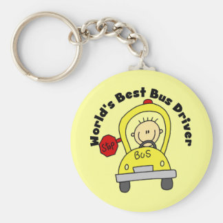 World s Best Bus Driver Key Chains