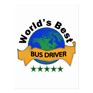 World s Best Bus Driver Post Cards