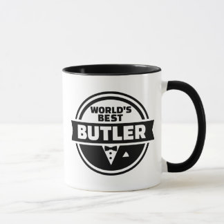 World's best butler mug