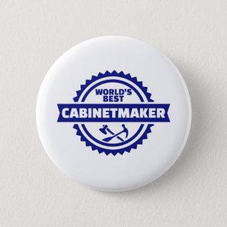 World's best cabinetmaker 2 inch round button