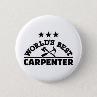 World's best carpenter 2 inch round button