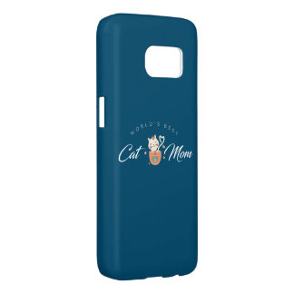 World's Best Cat Mom for Kitten Mothers Samsung Galaxy S7 Case
