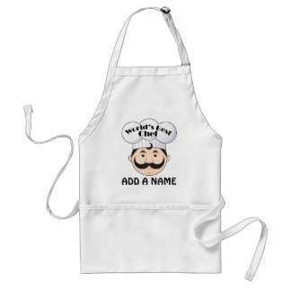 World s Best Chef Grill Cook Apron