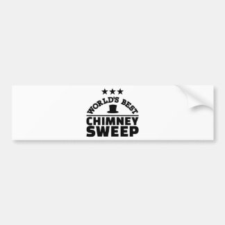 World's best chimney sweep bumper sticker