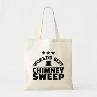 World's best chimney sweep tote bag