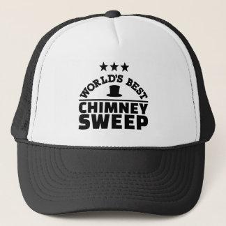 World's best chimney sweep trucker hat
