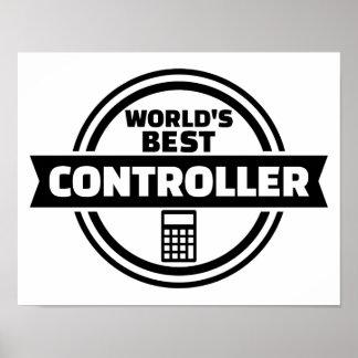 World's best controller poster