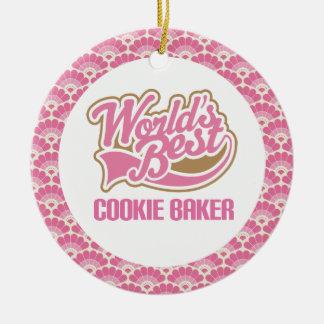 World's Best Cookie Baker Gift Ornament