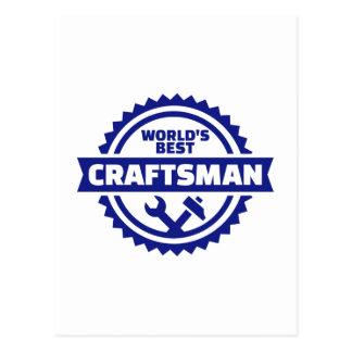 World's best craftsman postcard