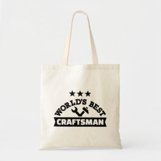 World's best craftsman tote bag