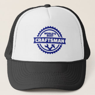 World's best craftsman trucker hat