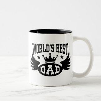 World s Best Dad Coffee Mugs