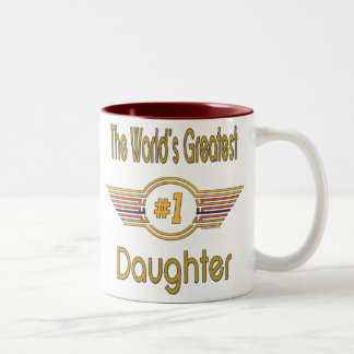 World s Best Daughter Gifts Coffee Mugs