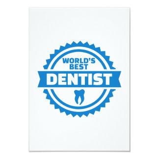 World's best dentist card