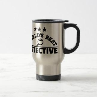 World's best detective travel mug