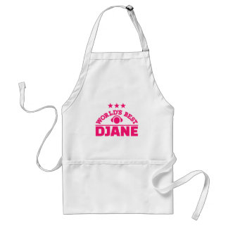World's best Djane Standard Apron