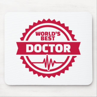 World's best doctor mouse pad