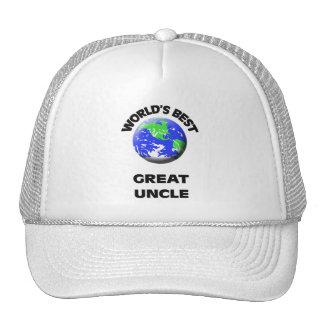 World s Best Great Uncle Trucker Hat