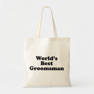 World s Best Groomsman Bag