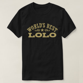 World's Best Lolo T-Shirt