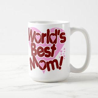 World s BEST Mom Coffee Mugs