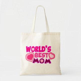 WORLD S BEST MOM SACS EN TOILE