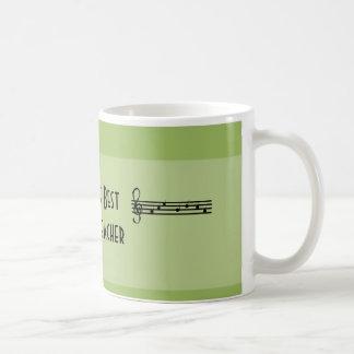 World s Best Music Teacher Coffee Mug