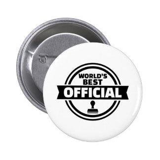 World's best official 2 inch round button