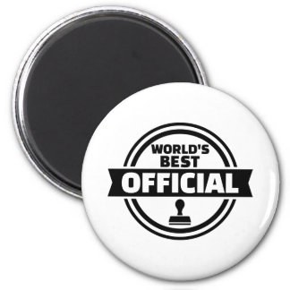 World's best official 2 inch round magnet