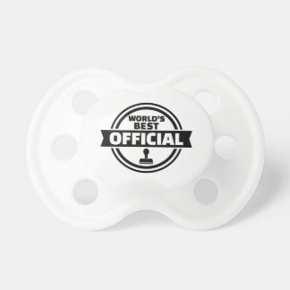 World's best official baby pacifiers