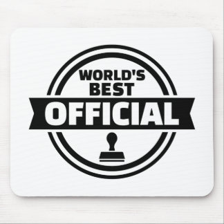 World's best official mouse pad