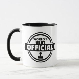 World's best official mug
