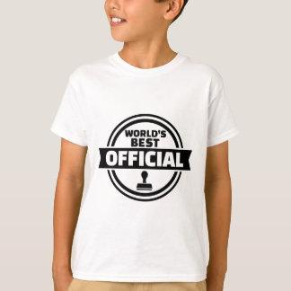 World's best official T-Shirt