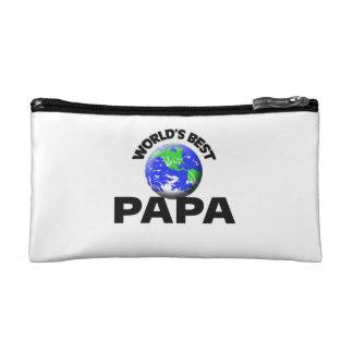 World s Best Papa Cosmetics Bags