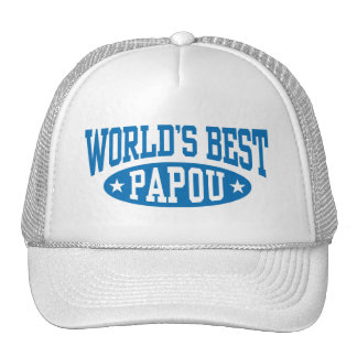 World's Best Papou Ever Trucker Hat