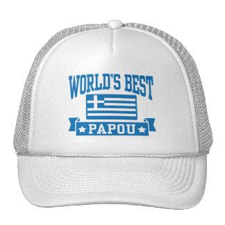 World's Best Papou Trucker Hat