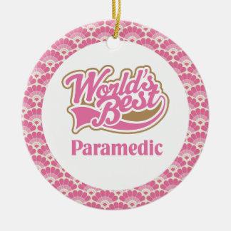 World's Best Paramedic Gift Ornament