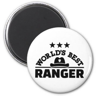 World's best ranger magnet