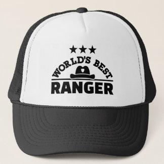 World's best ranger trucker hat