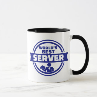 World's best server mug