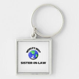 World s Best Sister-In-Law Key Chain