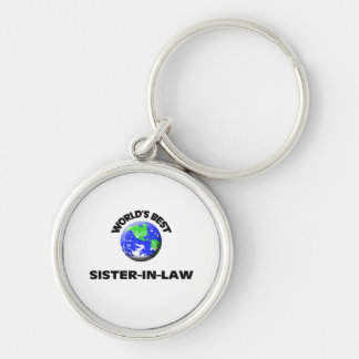 World s Best Sister-In-Law Keychains
