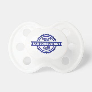 World's best tax consultant pacifier